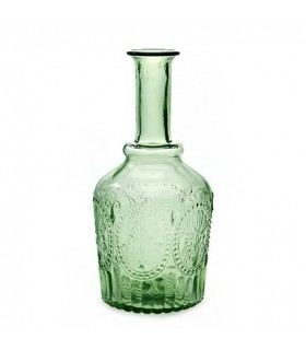 Decanter green glass