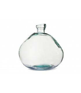 Vase-bulle en verre recyclé
