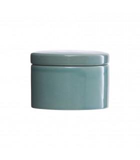 Boîte avec couvercle vert menthe