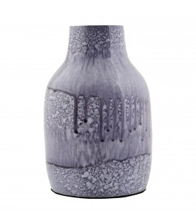 Vase small blue and purple