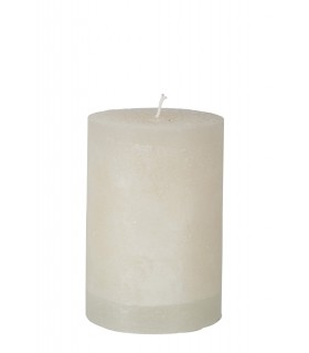 Ivory candle wide