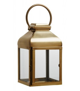 Lantern small brass