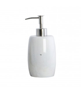 Bath_White marble soap dispenser