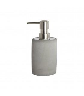 Sdb_Ciment gris Distributeur de savon