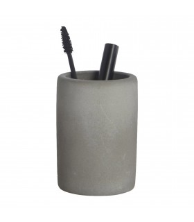 Bath_Cement toothbrush holder