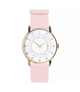 Montre_Lisa bracelet rose cuir
