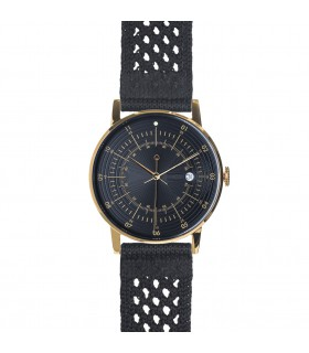 Watch_Hugo black suplon strap
