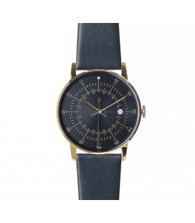Watch_Paul navy leather strap