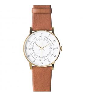 Montre Lisa bracelet cuir marron clair
