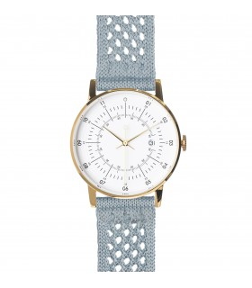 Watch_Lisa dove blue suplon strap