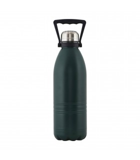Travel thermos forest green