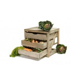 Meuble à conservation de légumes