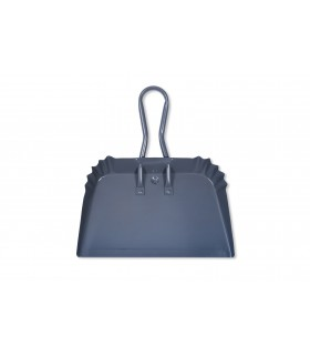 Dustpan charcoal gray steel