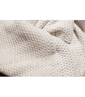 Cotton throw blanket Beige