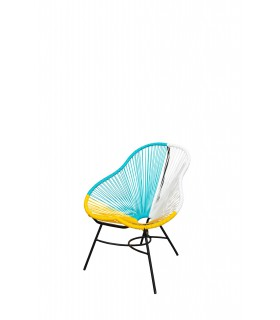 Multi coloured chair