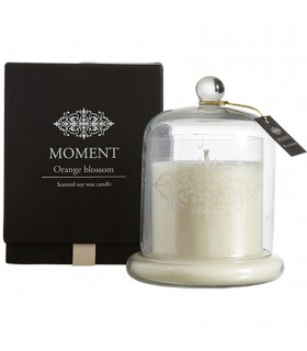 Scented candle orange blossom