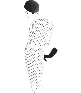 Dotted woman
