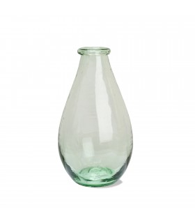 Vase classique en verre recyclé