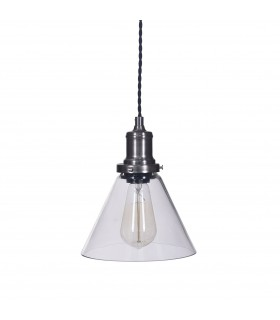 Light_Glass cone pendant light