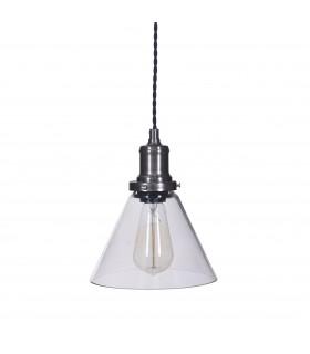 Lumière_Lampe plafonnier cone