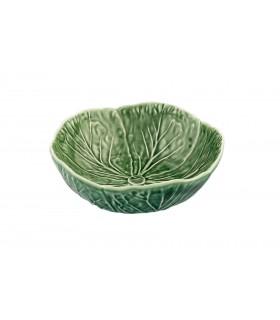 Petit saladier vert design feuille de chou