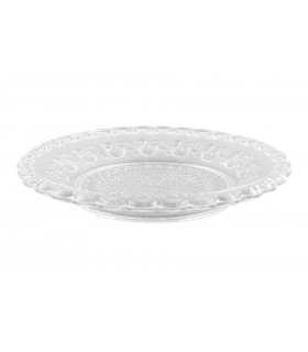 Transparent glass plate clear