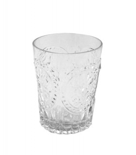 Medallion clear glass