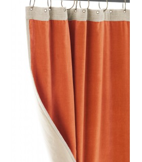 Curtain Médicis orange