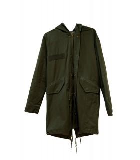 Manteau Parka avec col fourrure