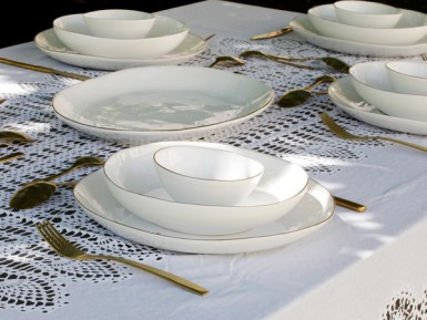 Designer tableware: our hints for successfully setting a table
